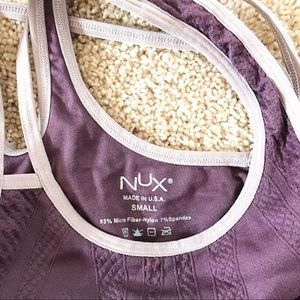 NUX Tops - NUX Cross back Tank Top Sz Small Never Worn